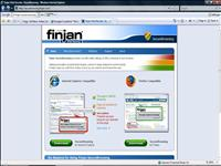 finjan securebrowsing screenshot